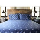 Catoe Penny Farthing Bicycles 400 Thread Count Sheet Set Size: California King