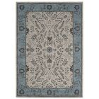 Giglio Blue Area Rug Rug Size: Rectangle 5'3