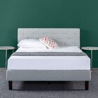 Agnese Diamond Stitched Upholstered Platform Bed Size: Full