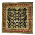 One-of-a-Kind Kempsford Super Hand-Knotted Red/Blue/Beige Area Rug