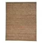 One-of-a-Kind Tone on Tone Mughal Motifs Hand-Knotted Gold/Burgundy Area Rug