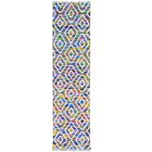 Flat Weave Kilim Hand-Knotted Blue/Yellow Area Rug