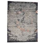 One-of-a-Kind Eddins Hand-Knotted Silver Gray Area Rug
