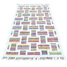 Recycled Clothes Kilim Hand-Knotted Beige Area Rug