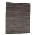 One-of-a-Kind Grass Hand-Knotted Gray Area Rug