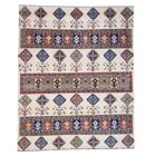 One-of-a-Kind Tillman Special Hand-KnottedIvory Ivory Area Rug