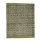 Qashqai Hand-Knotted Gray Area Rug