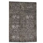 One-of-a-Kind Eddyville Hand-Knotted Gray Area Rug