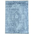 One-of-a-Kind Matheus Broken Hand-Knotted Gray Area Rug