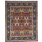 One-of-a-Kind Greear Bidjar Hand-Knotted Red Area Rug