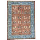 Bidjar Garus Hand-Knotted Red Area Rug