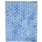 One-of-a-Kind Tansy Honeycomb Hand-Knotted Denim Blue Area Rug