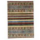 One-of-a-Kind Tillotson Super Khorjin Hand-Knotted Beige/Blue Area Rug