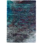 Pangburn Twilight Gray/Turquoise Area Rug Rug Size: Rectangle 8' x 10'1