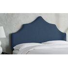 Sutcliffe Upholstered Panel Headboard Size: Full, Color: Navy