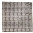 Flat Weave Reversible Durie Kilim Hand-Knotted Chocolate Brown Area Rug