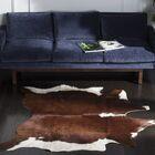 Cow Hide Caramel Area Rug Rug Size: 4'6