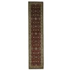 One-of-a-Kind Hereke Hand-Knotted Red Area Rug