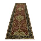 One-of-a-Kind Salyers New Zealand 300 Kpsi Revival Hand-Knotted Red Area Rug