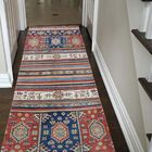 One-of-a-Kind Tillman Special Khorjin Hand-Knotted Blue/Red Area Rug