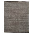 One-of-a-Kind Woodmansee Taupe Oriental Hand-Knotted Silk Area Rug