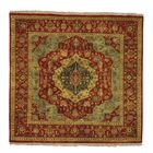 One-of-a-Kind Salvato Serapi Hand-Knotted Red Area Rug