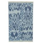 One-of-a-Kind Soumak Flat Weave Hand-Knotted Gray Area Rug