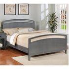 Karas Platform Bed Color: Flat Gray, Size: California King