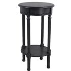 Keisler End Table Color: Black