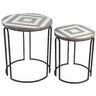 Olmos 2 Piece Nesting Tables