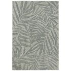 Claremont Olive Branches Hand-Tufted Wool Gray Area Rug Rug Size: Rectangle 5' x 7'6
