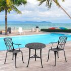 Coane 3 Piece Bistro Set