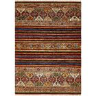 One-of-a-Kind Denver Hand-Knotted Wool Brown/Orange Area Rug