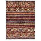One-of-a-Kind Denver Hand-Knotted Silk Beige/Brown Area Rug