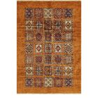 One-of-a-Kind Denver Hand-Knotted Wool Gold/Red Area Rug