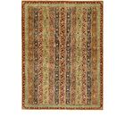 One-of-a-Kind Denver Hand-Knotted Wool Green Area Rug