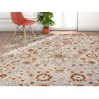 Binstead Wonderly Modern Persian Oriental Floral Gray Copper Area Rug Rug Size: Rectangle 7'10