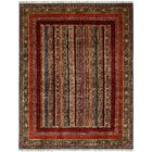 One-of-a-Kind Denver Hand-Knotted Wool Red Area Rug