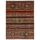 One-of-a-Kind Denver Hand-Knotted Wool Brown Area Rug