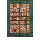 One-of-a-Kind Denver Hand-Knotted Wool Green/Brown Area Rug
