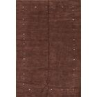 Seidman Oriental Hand-Knotted Wool Brown Area Rug
