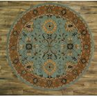 Batley Sultanabad Oriental Hand-Tufted Wool Blue/Brown Area Rug