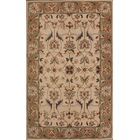 Pugh Agra Oriental Hand-Tufted Wool Beige/Ivory Area Rug