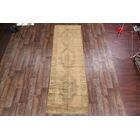 One-of-a-Kind Bovill Turkish Oriental Hand-Knotted Wool Beige Area Rug