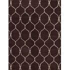 Aramis Traditional Oushak Trellis Oriental Hand-Tufted Wool Beige/Brown Area Rug