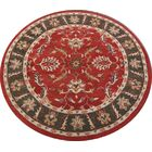 Cherwell Agra Oriental Hand-Tufted Wool Red/Burgundy Area Rug