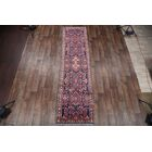 One-of-a-Kind Traditional Malayer Hamadan Persian Hand-Knotted 3'3