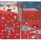 One-of-a-Kind Classical Kilim Persian Traditional Hand-Knotted 1'6