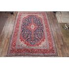 One-of-a-Kind Traditional Kashan Persian Hand-Knotted 8'7