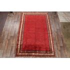 One-of-a-Kind Traditional Vintage Botemir Boteh Persian Hand-Knotted 7'3